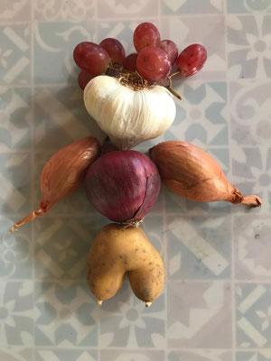 20.10. Gemüse inspiriert ...