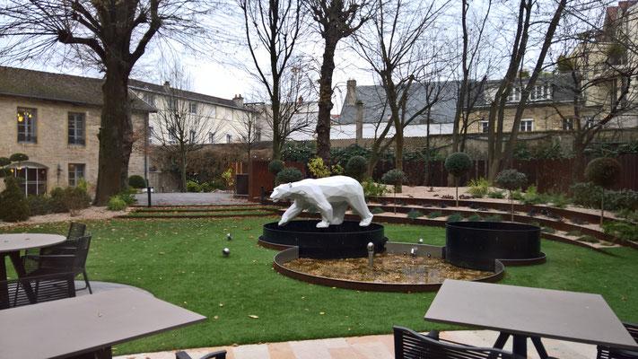 13.12. Dijon - im Jardins by la Cloche