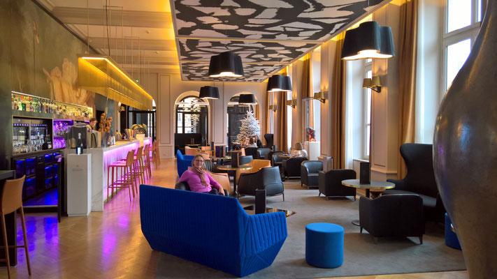Im Hotel-Restaurant Les Jardins by la Cloche in Dijon - mehr auf dem Link