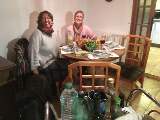 Abendessen bei Béatrice