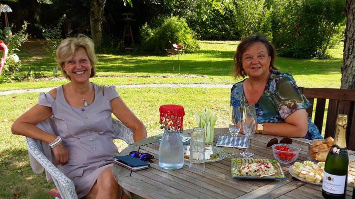 25.07. Brigitte und Francine zu Besuch
