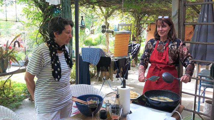 17.06. Ursula macht frittierten Polenta-Chips