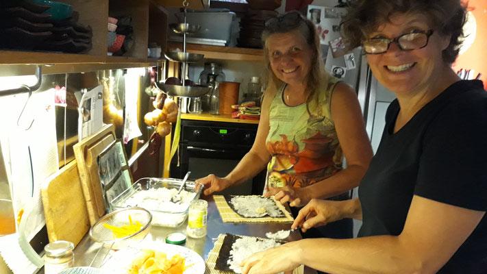 Die Mädels in der Küche