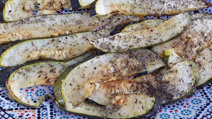 Zucchini aus dem Ofen