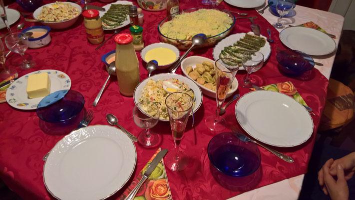 03.01. Essenseinladung bei Hans und Susanne