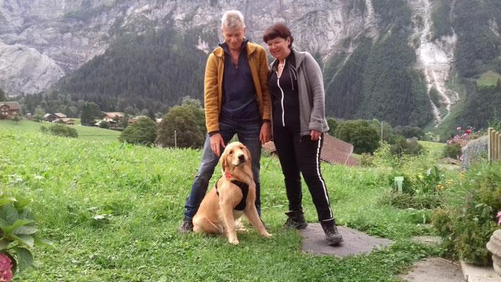 Bruno mit Familie grüßte aus dem Urlaub