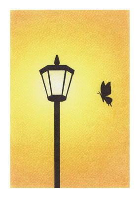 街灯(A4サイズ)