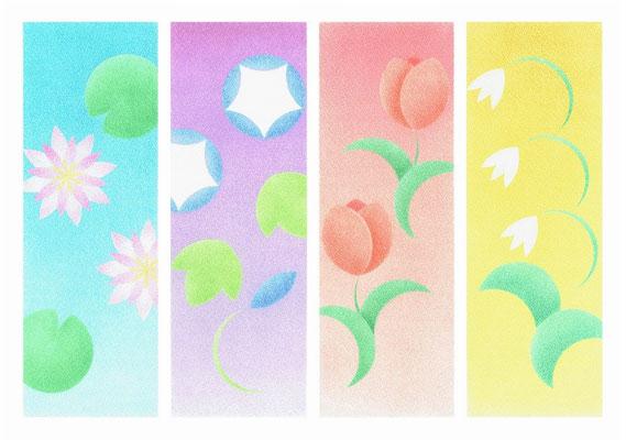 円花四花(A3サイズ)