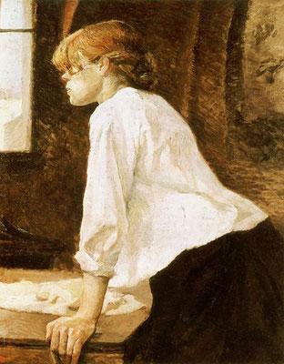 洗濯女 1884(個人所有)