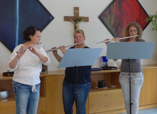 Christina, Barbara und Kristin