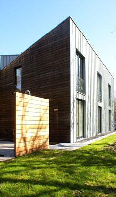 Fassadenverkleidung in Zedern Holz