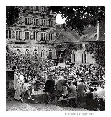Archiv-Nr. 183HR / Heidelberg, Schlossfestspiele in der Nachkriegszeit