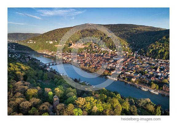 Archiv-Nr. hc2020131 | Luftaufnahme Heidelberg im Frühling