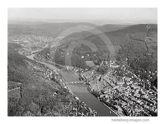 Archiv-Nr. L10_520 / Heidelberg und das Neckartal 1962