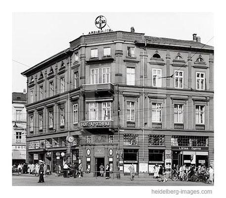 Archiv-Nr. HR52 / Hof Apotheke am Bismarkplatz