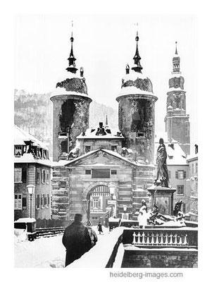 Archiv-Nr. hr42 / Unrestaurierte Alte Brücke im Winter