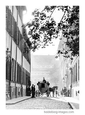 Archiv-Nr. hr242 / Letzter Postillon in Heidelberg