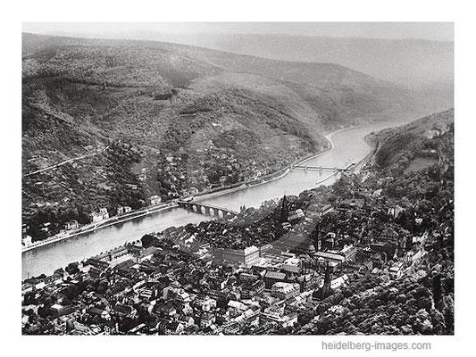 Archiv-Nr. L10_7501/ Heidelberg aus der Luft