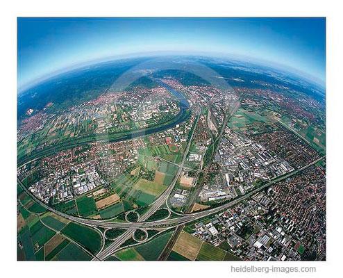 Archiv-Nr. lc/10_6813c | Autobahnkreuz und Neckarschleife