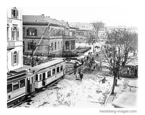 Archiv-Nr. h4507/ Bahnschranke an der Rohrbacher Strasse