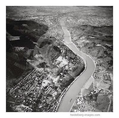 Archiv-Nr. L10_2097 / Neckarbiegung bei Schlierbach mit Blick ins Neckartal 1968