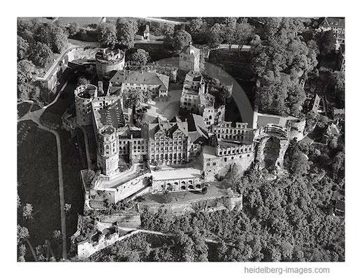 Archiv-Nr.  L10_783 / Luftbild vom Heidelberger Schloss