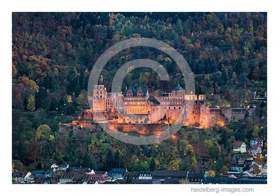 Archiv-Nr. hc2015169 / herbstlicher Stadtwald und Heidelberger Schloss