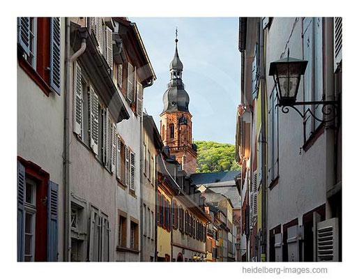 Archiv-Nr. hc2007138 / Steingasse u. Turm der Heiliggeistkirche