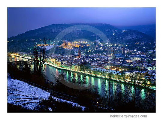 Archiv-Nr. hc2009107 / Heidelberg bei Nacht