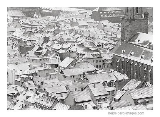 Archiv-Nr. h96144 / Heidelberg, verschneite Altstadtdächer