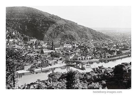Archiv-Nr. 4544-10H / Neckartalpanorama / Wiederaufbau der Alten Brücke