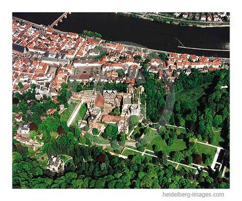 Archiv-Nr. lc10_6331 / Heidelberger Schloss und Altstadt