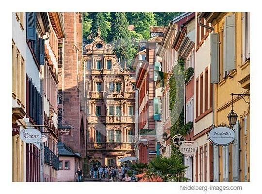 Archiv-Nr. hc2013131 / Blick aus der Haspelgasse auf das Hotel zum Ritter