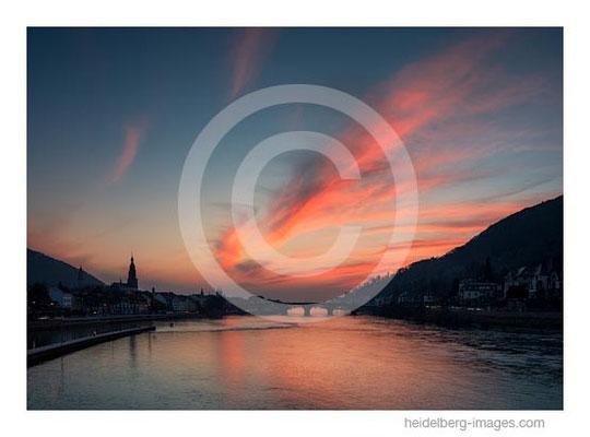 Archiv-Nr. hc2015115 / Sonnenuntergang über dem Necker