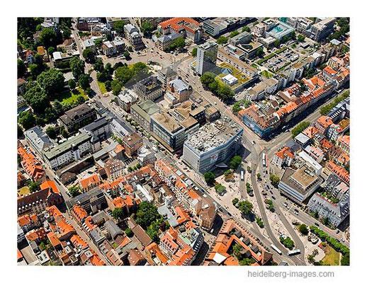 Archiv-Nr. lc10_6854_014437 / Adenauer- u. Bismarkplatz aus der Luft