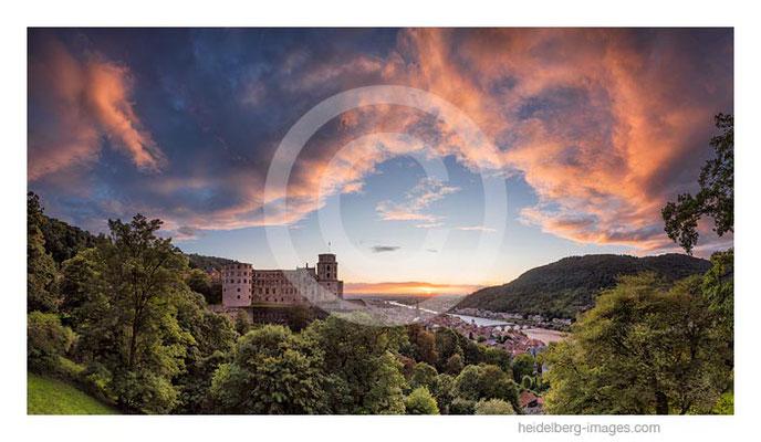 Archiv- Nr. hc20171236 / Abendstimmung über dem Schloss und Altstadt