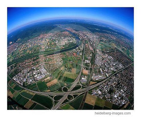 Archiv-Nr. lc10_6813b / Autobahnkreuz Heidelberg