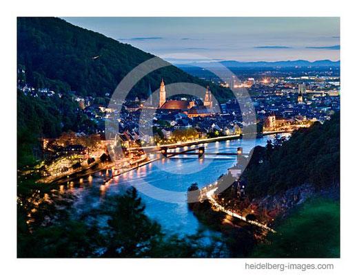 Archiv-Nr. hc2012127 / Blick vom Haarlasweg auf Heidelberg und die Pfalz