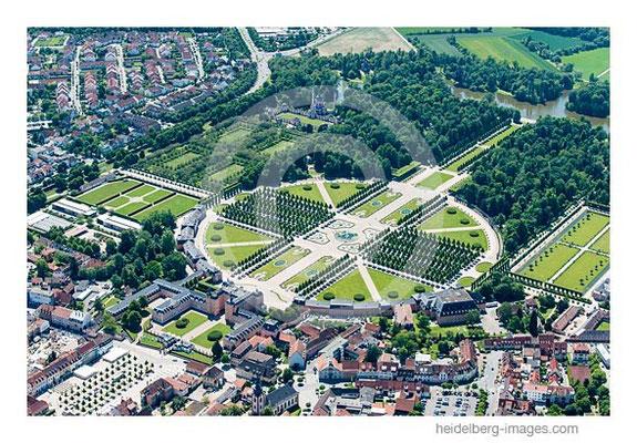 Archiv-Nr. lc10_6910 / Luftbild Schlosspark Schwetzingen