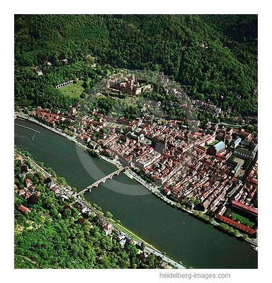 Archiv-Nr. lc/10_6351 / Heidelberger Altstadt und Schloss
