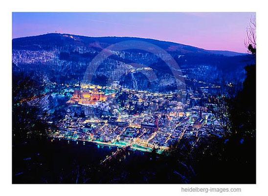 Archiv-Nr. hc2009142 / Blick auf das nächtliche Heidelberg