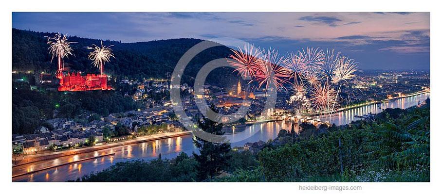 Archiv-Nr. hc2014180 / Heidelberg, Schlossbeleuchtung