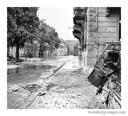 Archiv-Nr. hr281 / Einer der wenigen Einschläge in Heidelberg