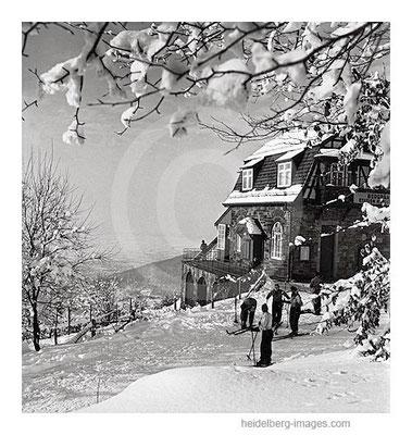 Archiv-Nr. h13/2 Winteridyll auf der Bergstation