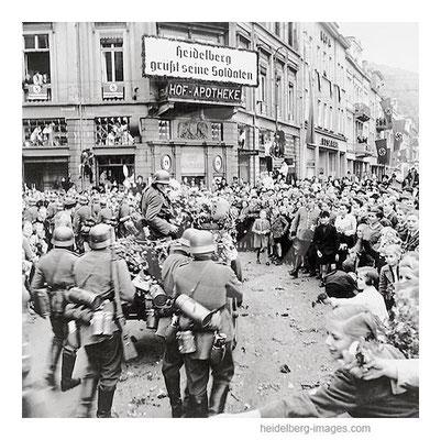 Archiv-Nr.  hr145 / Soldatenheimkehr