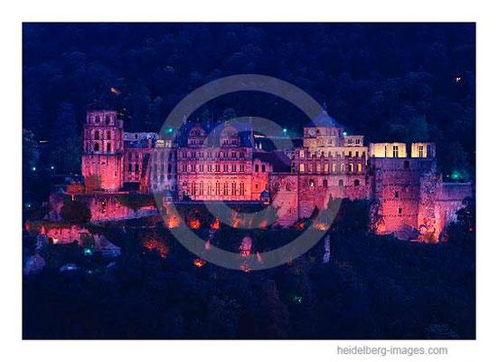 Archiv-Nr. hc98122 / Schlossfassade bei Nacht