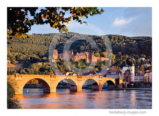 Archiv-Nr. 97153hc / Alte Brücke, Neckar, Schloss