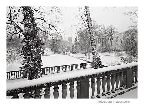 Archiv-Nr. h96105 / Schlosspark im Winter