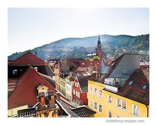 Archiv-Nr. hc2009212 / Dächer der Heidelberger Altstadt und Heiliggeistkirche