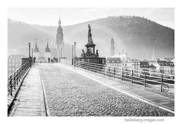 Archiv-Nr. h2014192 / Alte Brücke und Altstadt von Heidelberg